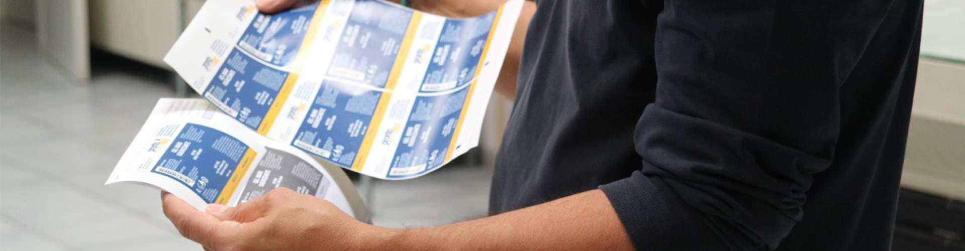 Stampa prova etichette